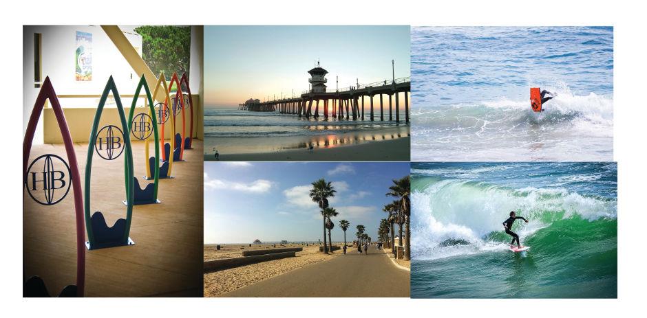 Beach Activities at Huntington Beach